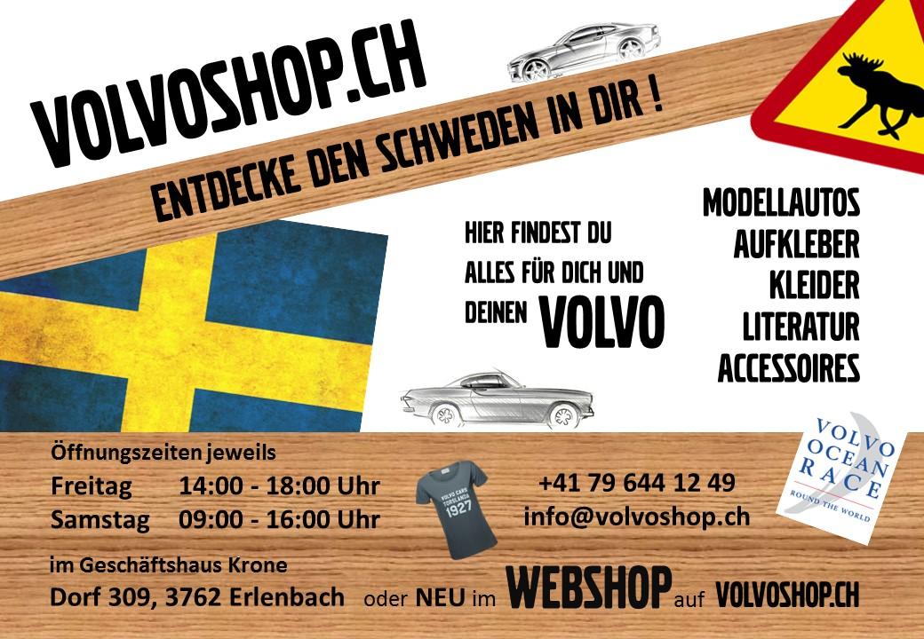 Flyer VOLVOSHOP.CH